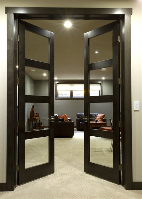 Contemporary Interior Glass Doors Modern Interior Doors Family Room Modern With Contemporary Interior Doors Doors