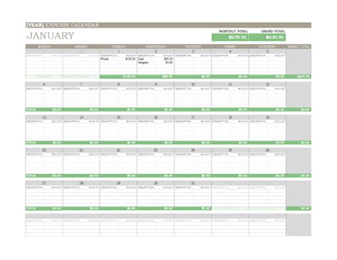 any year calendar template any year calendar excel template calendar template 2016