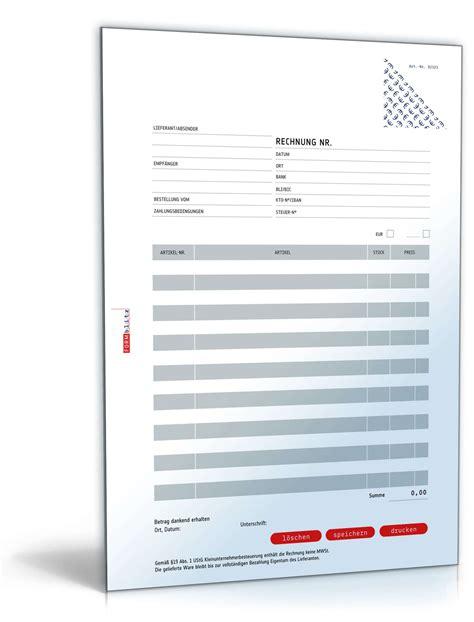 Rechnung Verein Kleinunternehmer Rechnung Kleinunternehmer Ohne Mehrwertsteuer Muster Zum
