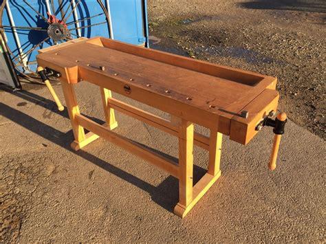 david barron furniture german work bench   bay