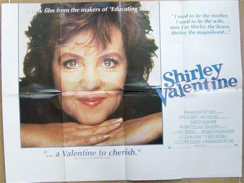shirley valentines shirley original cinema poster from