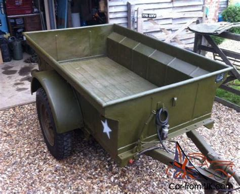 Bantam Jeep Trailer For Sale World War 2 Jeep Bantam Trailer