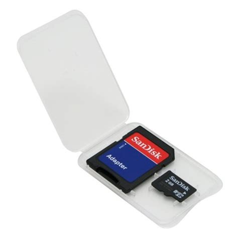 Sandisk 2 Gb sandisk 2gb microsd transflash card w sd adapter camcorder import it all