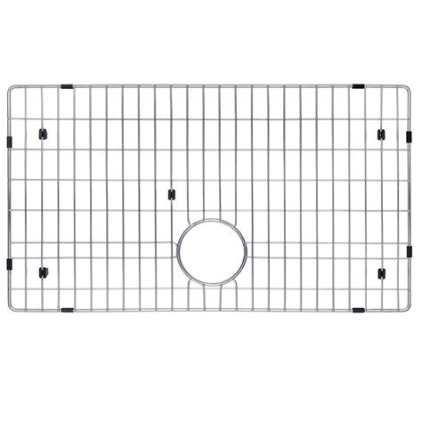 30 x 16 sink grid kraus 27 in x 16 in bottom sink grid in stainless steel