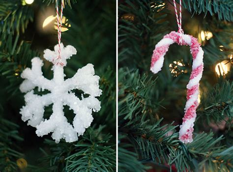 borax crystal ornaments 101 days of christmas life
