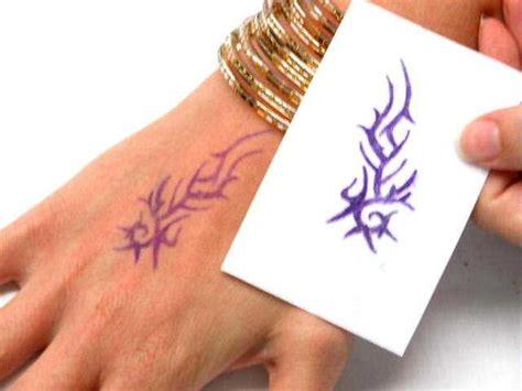 temporary tattoo using printer how to make temporary tattoos using tattoo printing paper