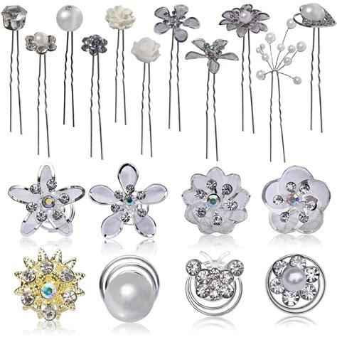 Hochzeit Set Perlen by Haarnadeln Curlies Set Hochzeit Braut Perlen Blume Strass
