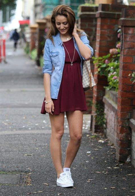 what looks good with red best 25 dress and converse ideas on pinterest cute