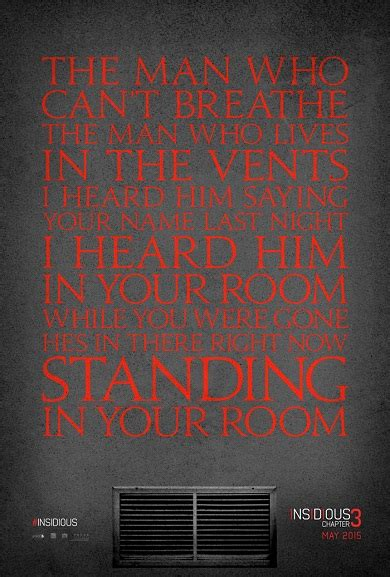 Quotes Film Insidious 3 | lots of quotes on the first poster for insidious chapter