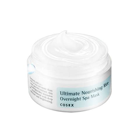Cosrx Ultimate Nourishing Rice Overnight Spa Mask 50ml cosrx ultimate nourishing rice overnight spa mask cosrx