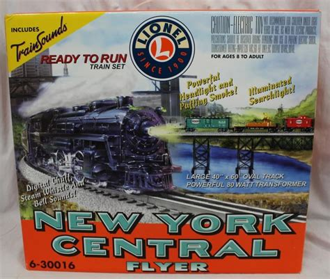 lionel 6 30016 new york central flyer electric set wit