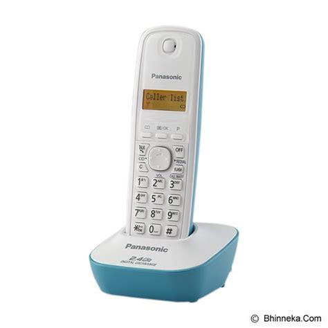Murah Telephone Wireless Panasonic Kx Tg 1611cxc Murah jual panasonic cordless phone kx tg3411 white tosca