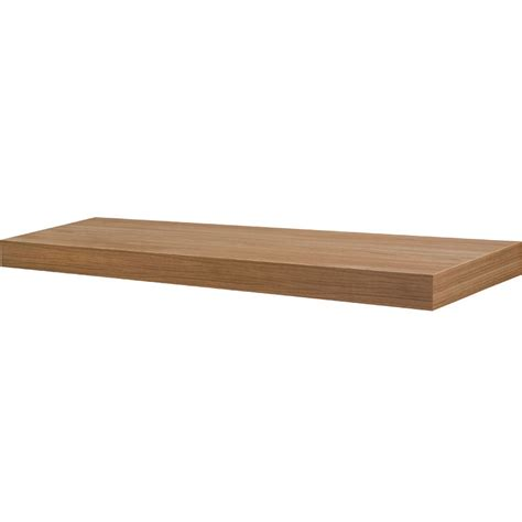 Floating Wall Shelf by 35 5 Inch Floating Wall Shelf In Wall Mounted Shelves