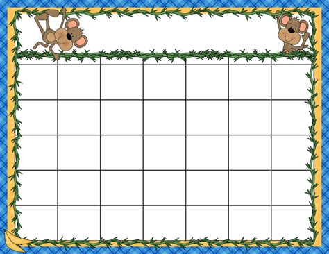 Preschool Calendar Template Word Printable Calendar Template 2018 Free Preschool Calendar Templates 2018