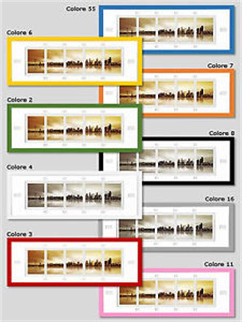 cornici da muro multifoto cornici da parete legno colorate portafoto da