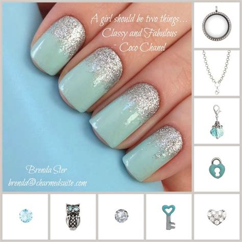 Origami Nails - origami owl inspired nails and locket design find brenda