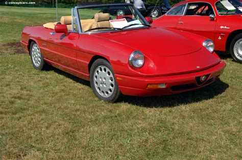 how cars run 1994 alfa romeo spider parking system 1994 alfa romeo spider image chassis number 410