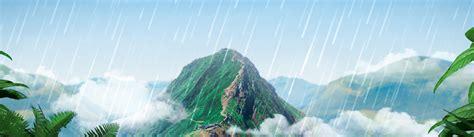 koleksi background banner gunung gratis