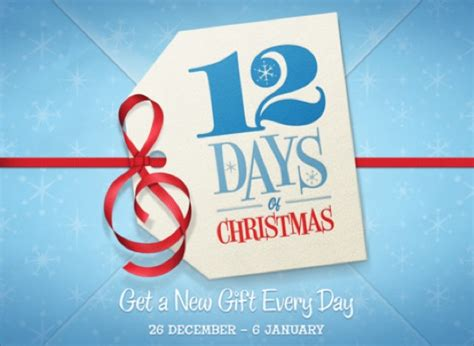 Apple Christmas Giveaway - apple launches annual 12 days of christmas giveaway macgasm