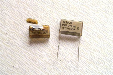 kapasitor rifa replacing the micro x2 capacitors