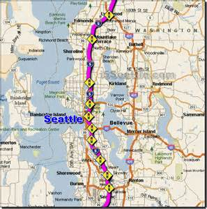 seattle map traffic seattle traffic map map2