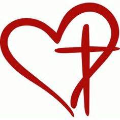 christian heart die cut vinyl decal pv1211 svg files