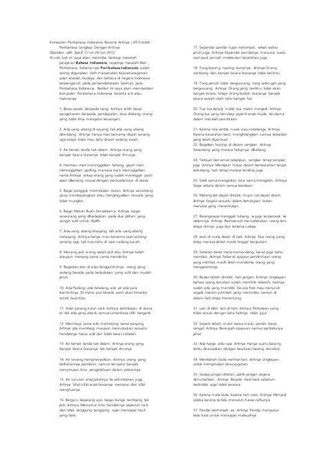 50 pribahasa dan artinya kumpulan pepatah dan ungkapan kumpulan peribahasa indonesia beserta artinya