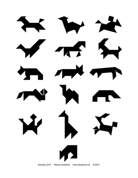 printable animal tangrams 17 best images about tangram on pinterest picture cards