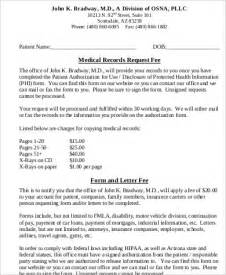 sample medical records request form 8 examples in word pdf