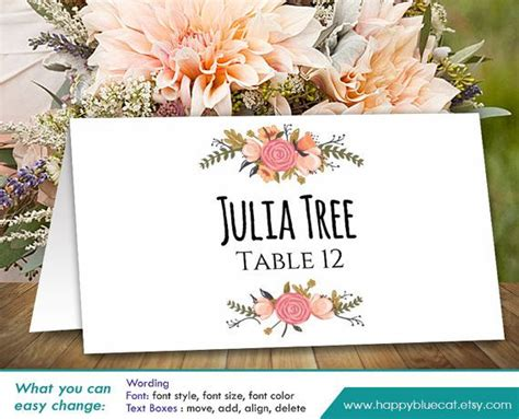 printing your own wedding place cards the 25 best print your own wedding place cards ideas on diy table cards