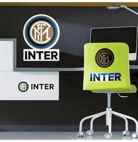 Stiker Set Intermilan fc inter milan wall sticker logo for only 163 14 02 at merchandisingplaza uk