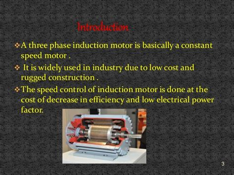 what uses induction motors speed of three phase induction motor