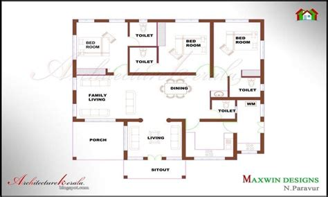 house designs and floor plans in kerala single floor 4 bedroom house plans kerala unique house