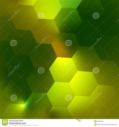 design concept background green abstract geometric background pattern illuminated