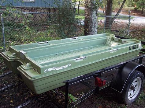 bass hunter boats used 2003 basshunter john boat 300 100221005 custom