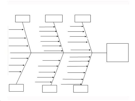 fishbone diagram template free sle fishbone diagram template 12 free documents in