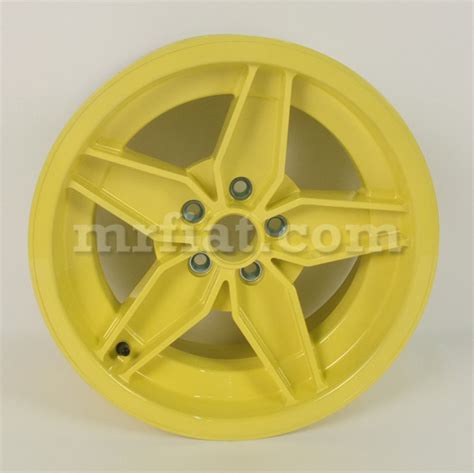 Wheels Lancia Stratos Lancia Stratos Hf Cagnolo Replica Wheel Yellow 8 X 15
