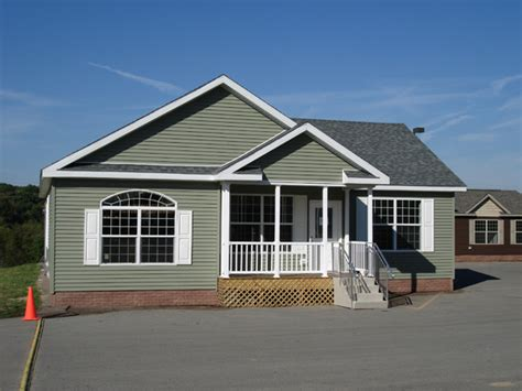 Craftsman Houses Plans pennwest covington ii model hf116 a ranch style modular