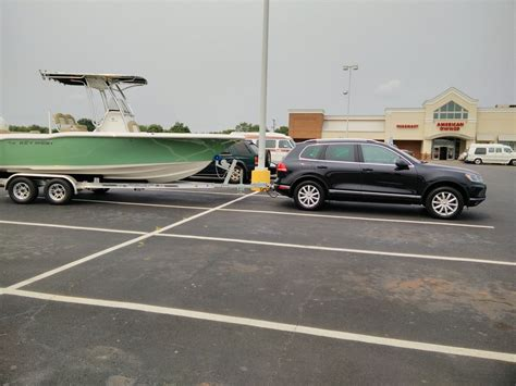 Volkswagen Touareg Towing Capacity by Towing With A Vw Touareg The Hull Boating And