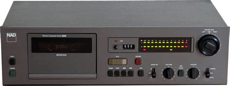 nad cassette deck nad 6325 hi fi database cassette decks
