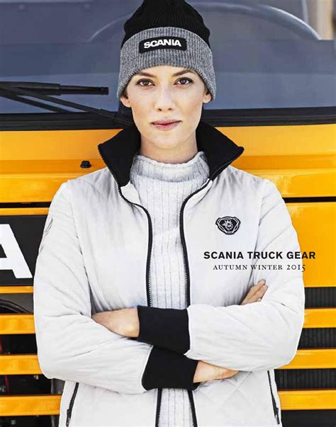 scania truck gear scania truck gear autumn winter 2015 by scania great
