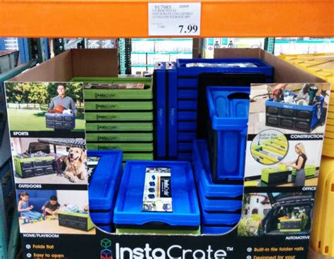 costco crate instacrate collapsible storage bins