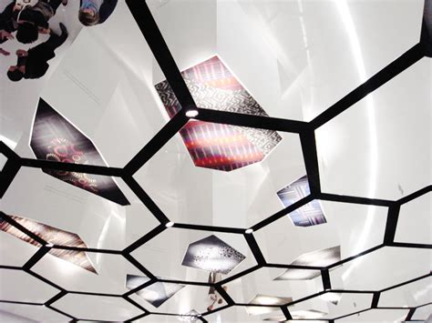 Mirror Ceiling Panels by Francesco Bandini The Positive Floor For Interaceflor