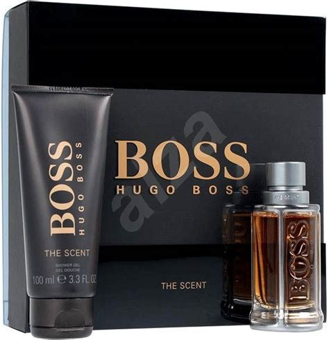 hugo boss the scent 50 ml perfume gift set alzashop com