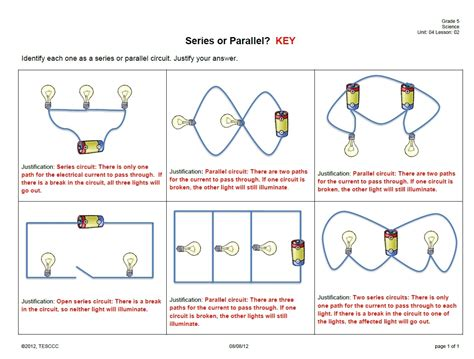 electricity learning 15 electrical circuits worksheet a series circuit problems