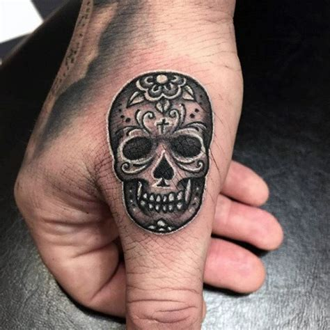day of the dead skull tattoos 70 day of the dead tattoos for mexican designs