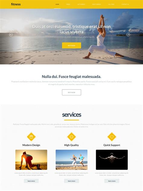 best exercise website exercise website template sports fitness