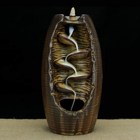 Latest Home Decoration by Online Get Cheap Smoke Cone Tower Incense Burner