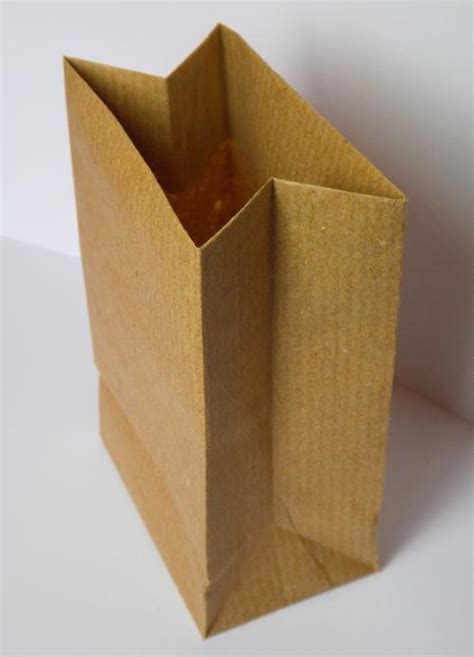 How To Make A Brown Paper Bag - other festive supplies small brown paper bags