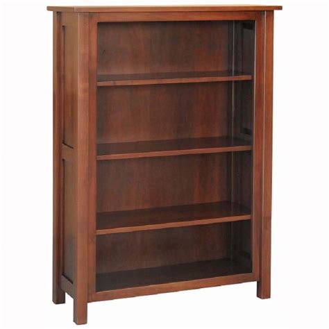 mission bookcase home wood furniture